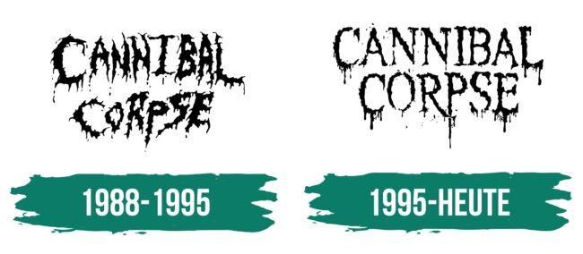 Cannibal Corpse Logo Geschichte