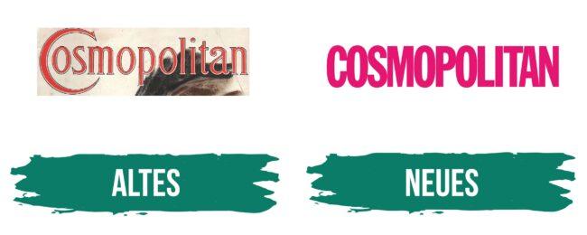 Cosmopolitan Logo Geschichte