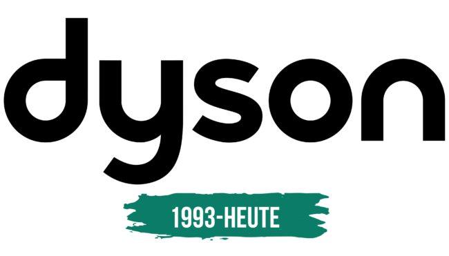 Dyson Logo Geschichte