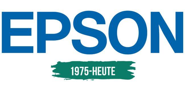 Epson Logo Geschichte