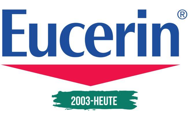 Eucerin Logo Geschichte