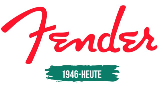 Fender Logo Geschichte