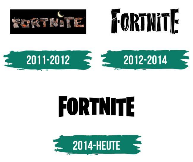Fortnite Logo Geschichte