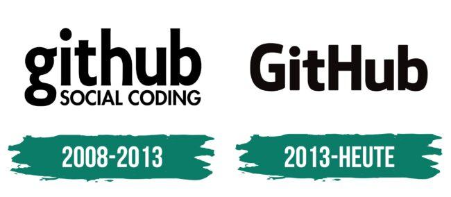 GitHub Logo Geschichte