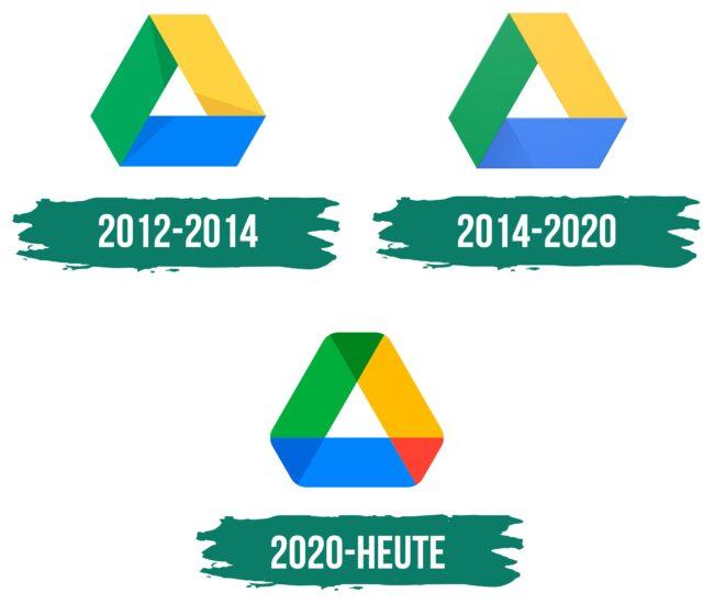 Google Drive Logo Geschichte
