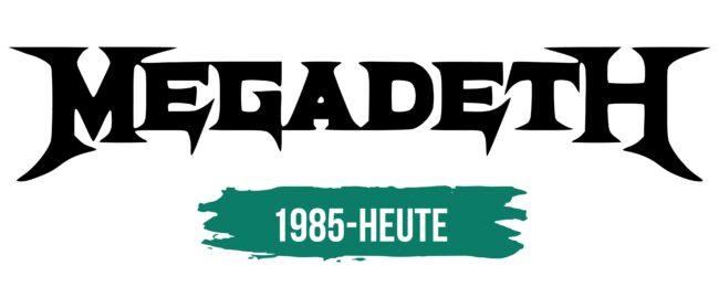 Megadeth Logo Geschichte