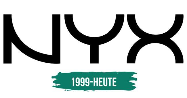 NYX Logo Geschichte