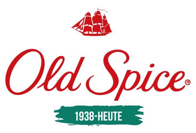 Old Spice Logo Geschichte