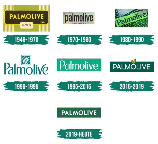 Palmolive Logo Geschichte