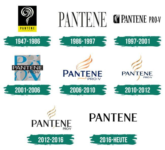 Pantene Logo Geschichte