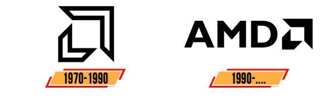 AMD Logo Geschichte