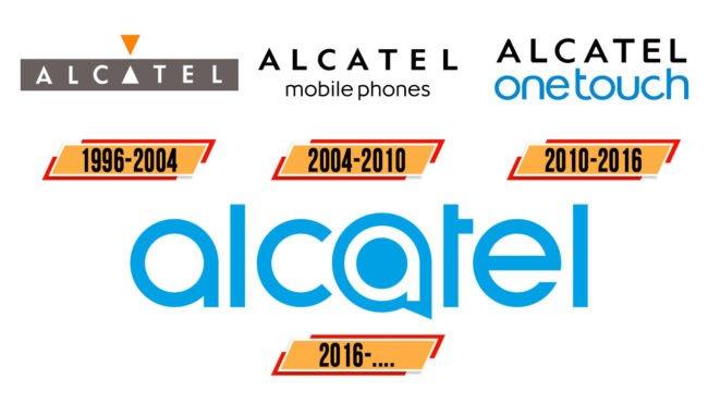 Alcatel logo Geschichte