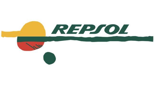 Repsol Logo 1987-1997