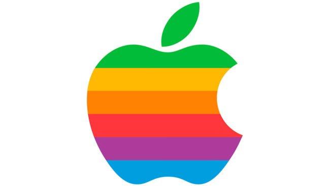 Apple Logo 1977-1998