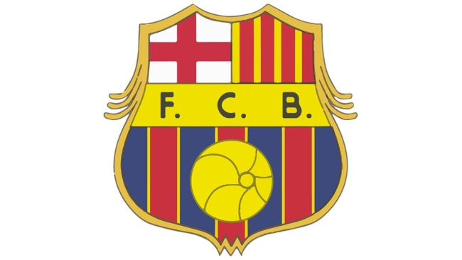 Barcelona logo 1920-1936