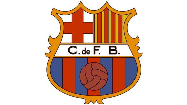 Barcelona logo 1949-1960