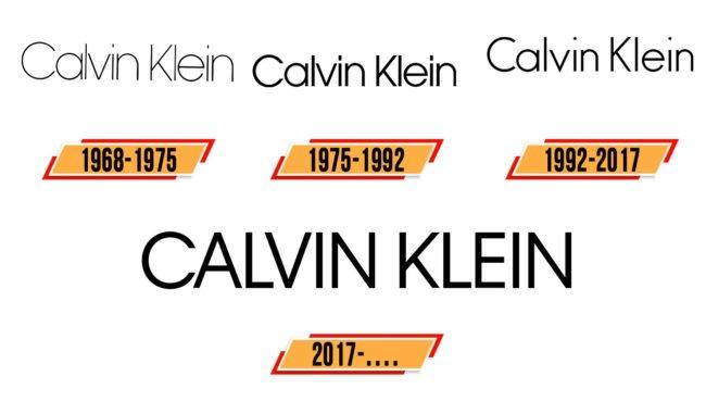 Calvin Klein Logo Geschichte