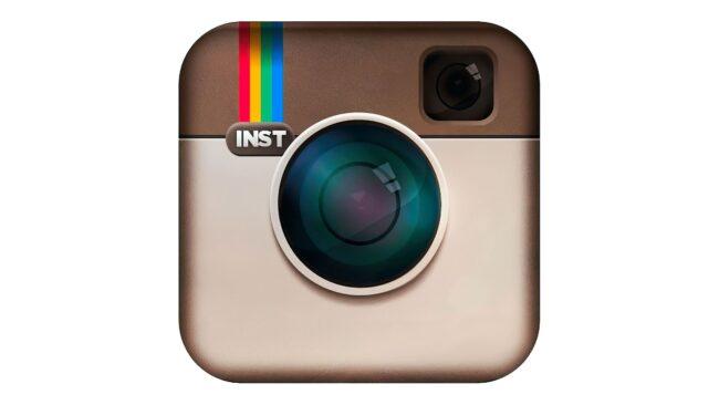 Instagram icon Zeichen 2010-2011