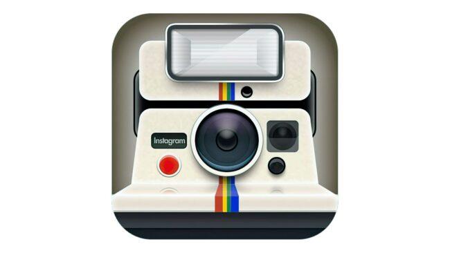 Instagram icon Zeichen 2010