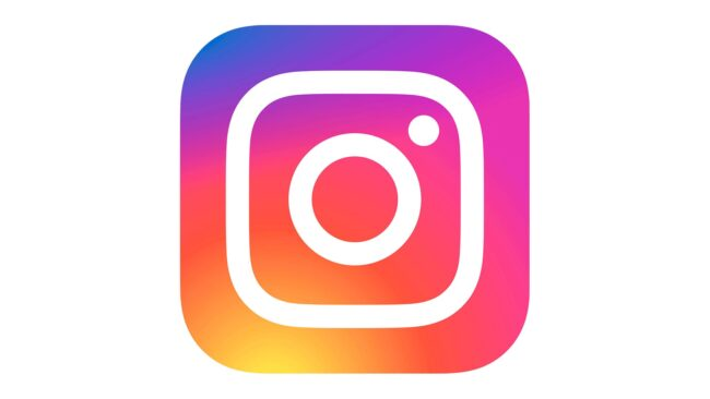 Instagram icon Zeichen 2016-Heute