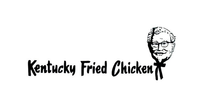 Kentucky Fried Chicken Zeichen 1952–1978