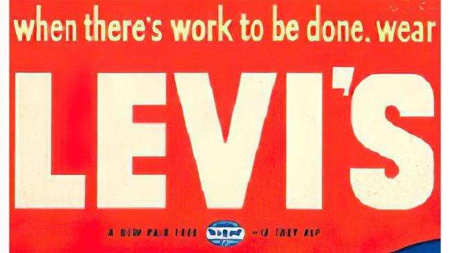 Levi's Logo 1949–1954