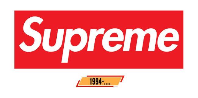 Supreme Logo Geschichte