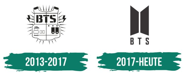 BTS Logo Geschichte