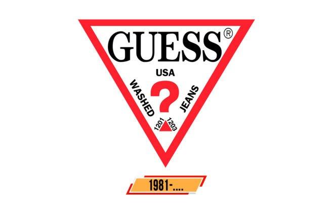 Guess Logo Geschichte