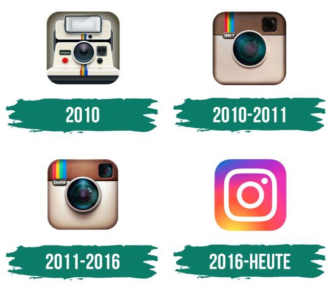 Instagram Logo Icon Geschichte