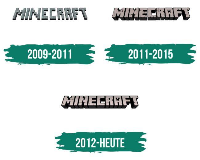Minecraft Logo Geschichte