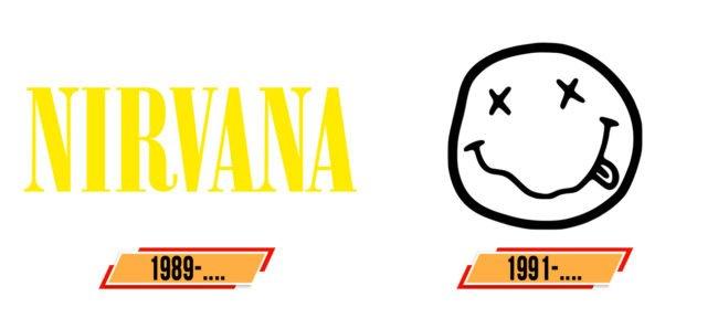 Nirvana Logo Geschichte