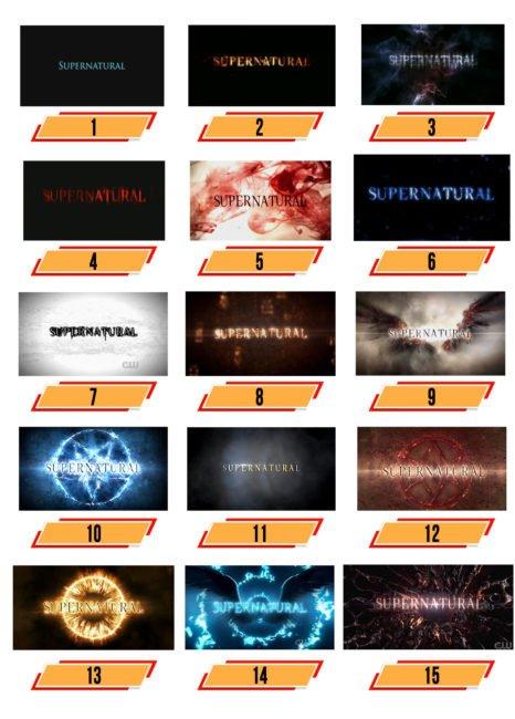 Supernatural Logo Geschichte