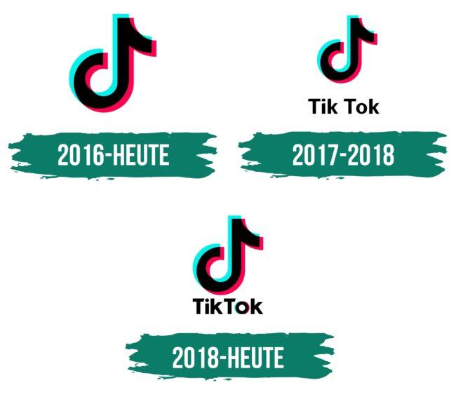 TikTok Logo Geschichte