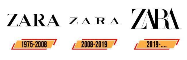 Zara Logo Geschichte