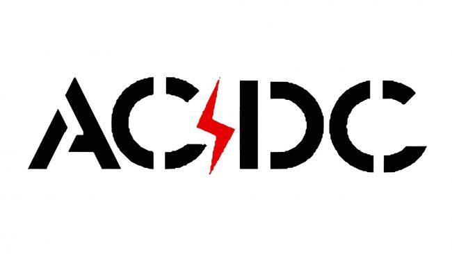 AC DC Zeichen 1974-1976