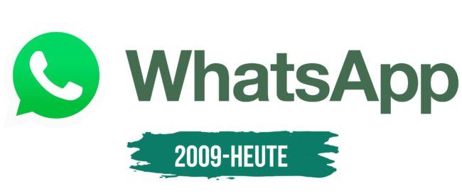 WhatsApp Logo Geschichte