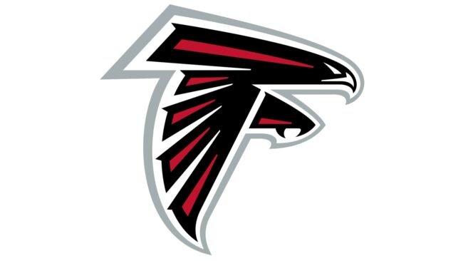 Atlanta Falcons Logo 2003-heute