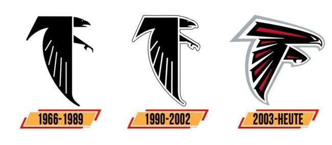 Atlanta Falcons Logo Geschichte