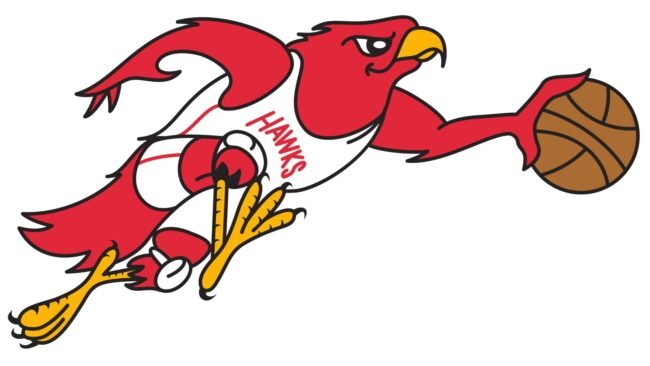 Atlanta Hawks Logo 1969-1970