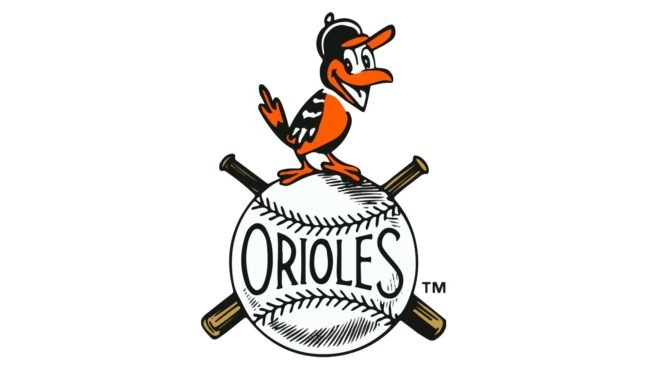 Baltimore Orioles Logo 1954-1965