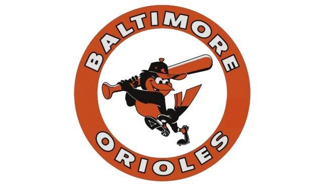Baltimore Orioles Logo 1966-1988