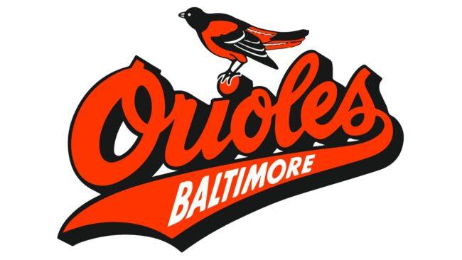 Baltimore Orioles Logo 1992-1994