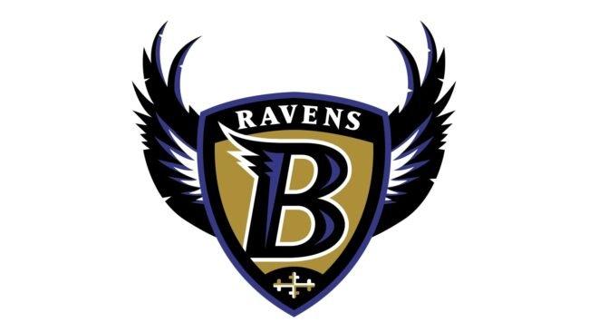 Baltimore Ravens Logo 1996-1998