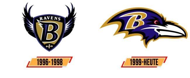 Baltimore Ravens Logo Geschichte