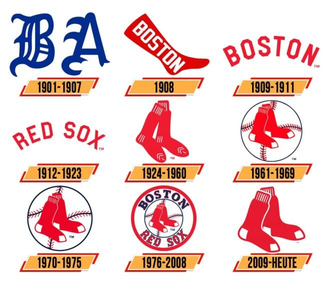Boston Red Sox Logo Geschichte