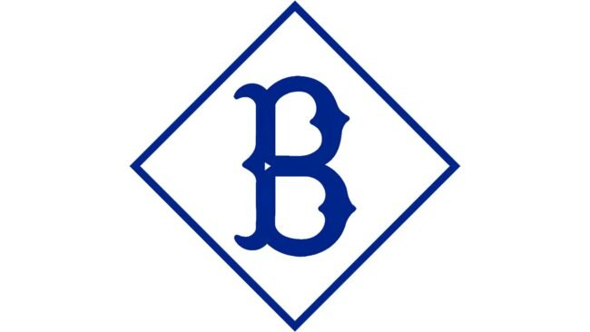 Brooklyn Dodgers Logo 1912-1913