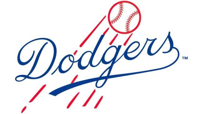 Brooklyn Dodgers Logo 1945-1957