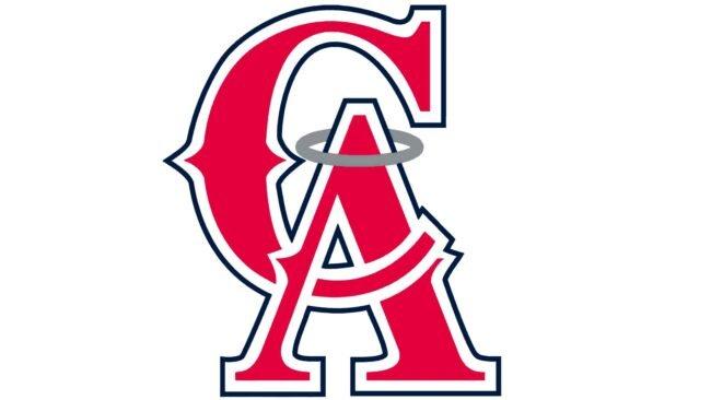 California Angels Logo 1995-1996