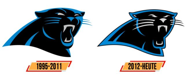 Carolina Panthers Logo Geschichte
